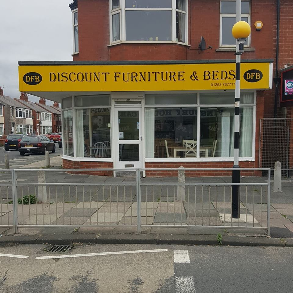 Discount Furniture & Beds Shop Front